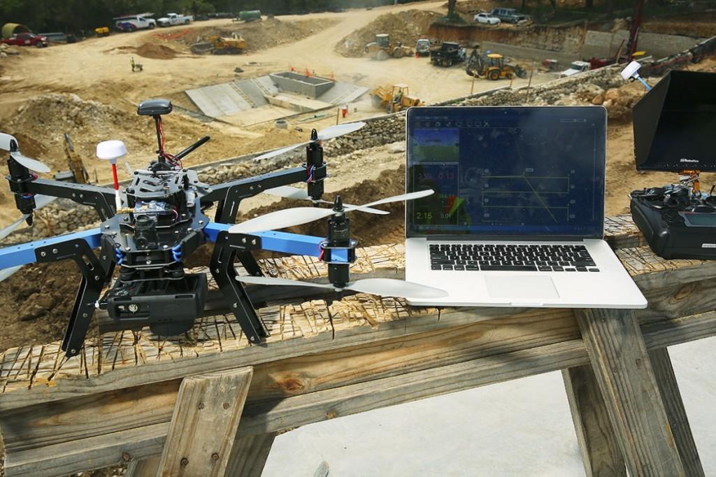 3d robotics faa grant