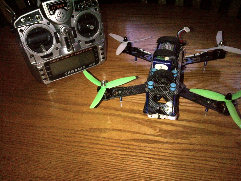 Nighthawk Pro quadcopter
