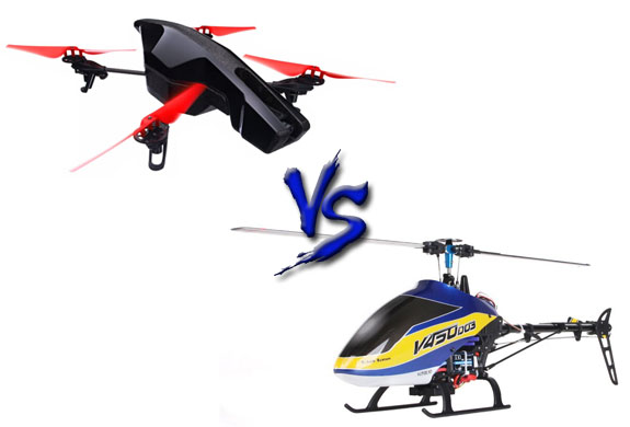 Are Quadcopters Better Than RC Helicopters? - UAV Coach