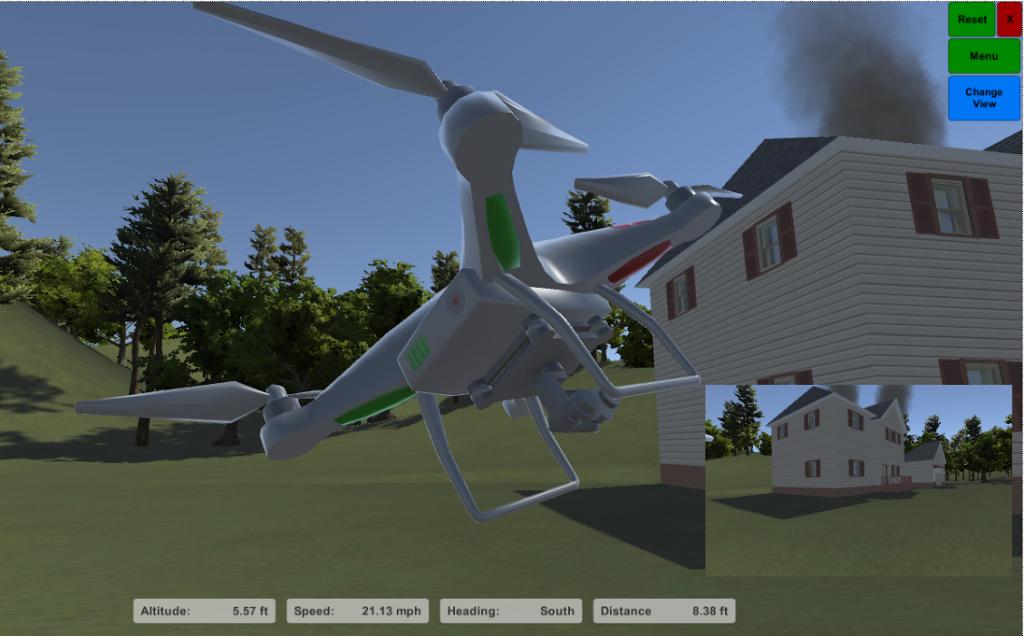 uav drone flight simulator