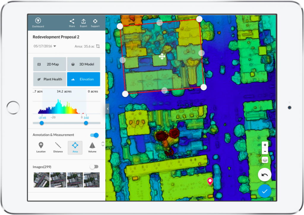 DroneDeploy Integrated App
