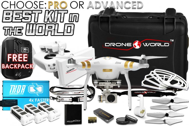 phantom 3 bundle review drone world