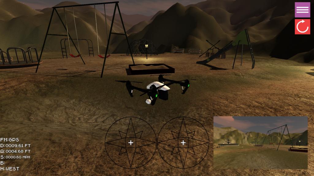 Zephyr Drone Simulation
