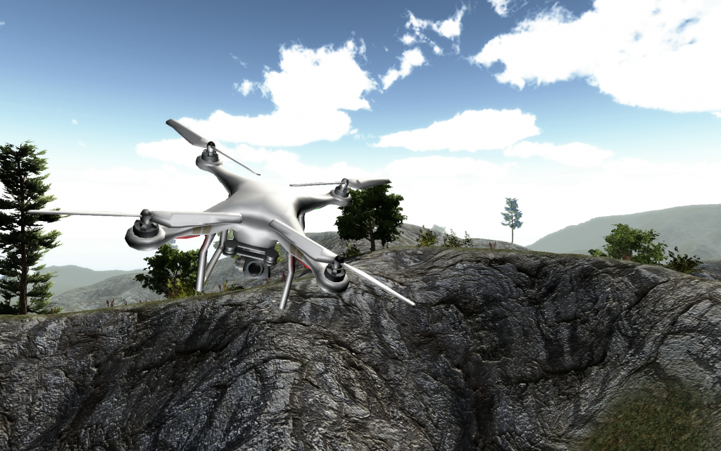 Zephyr Drone Training Simulation