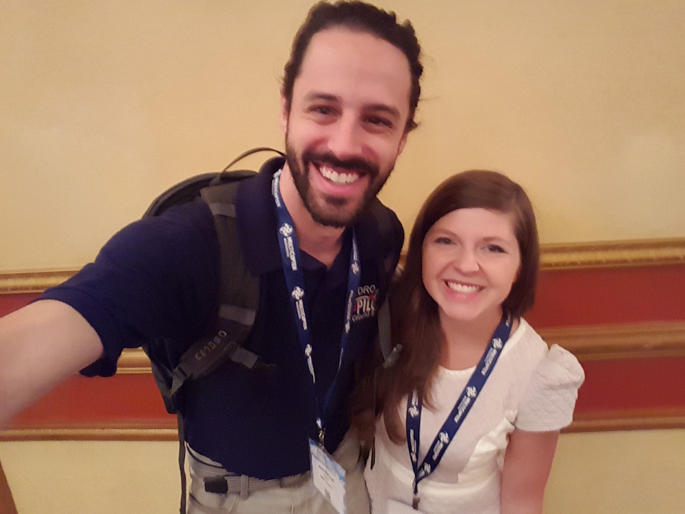 Getting to meet Sally French, AKA http://thedronegirl.com