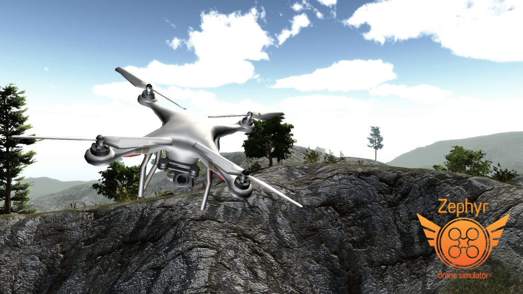 Zephyr Drone Training Screenshot 2