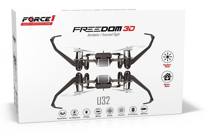 UDI Freedom U32 RC Mini Quadcopter Drone RTF