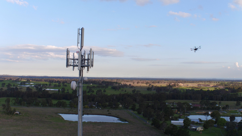 ZenMuse Cell Tower Inspections