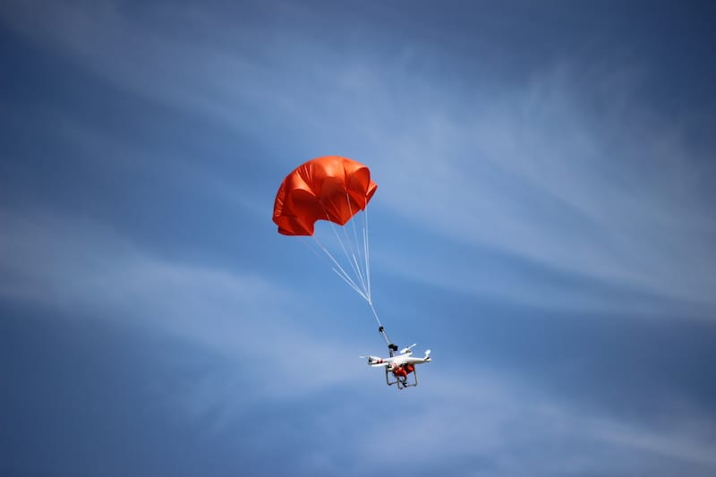 Drone Parachute Systems Provide a Path to Flights Over People