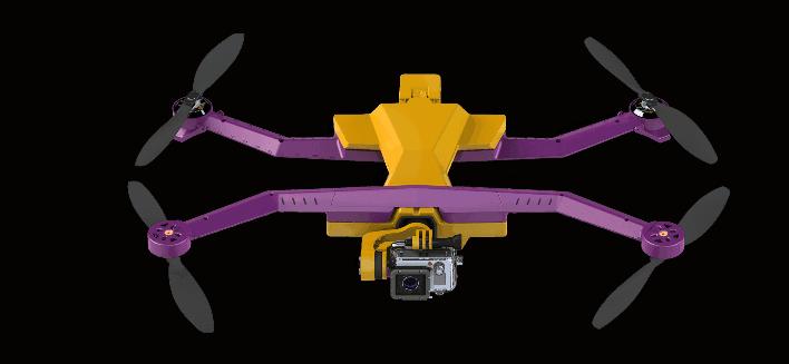 airdog auto follow gopro drone