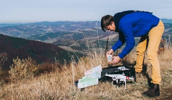 geomapping drone business australia