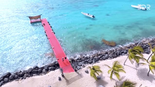 necker island drone video