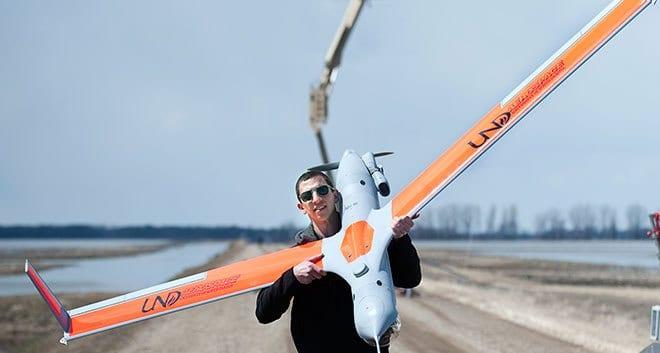 north dakota faa drone test site