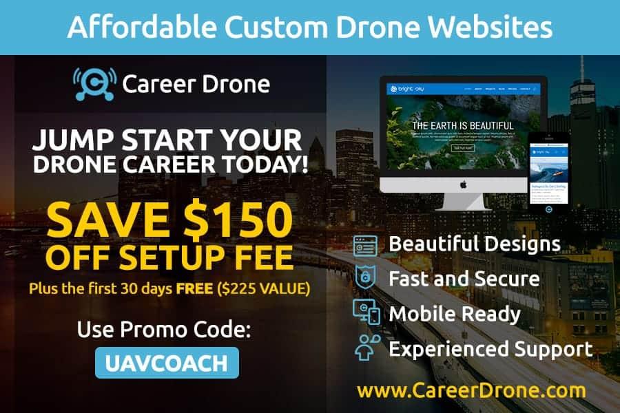 custom drone website