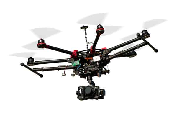 Spreading Wings S900 drones