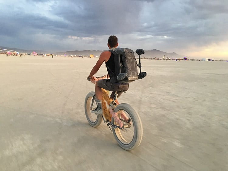 bike-burning-man