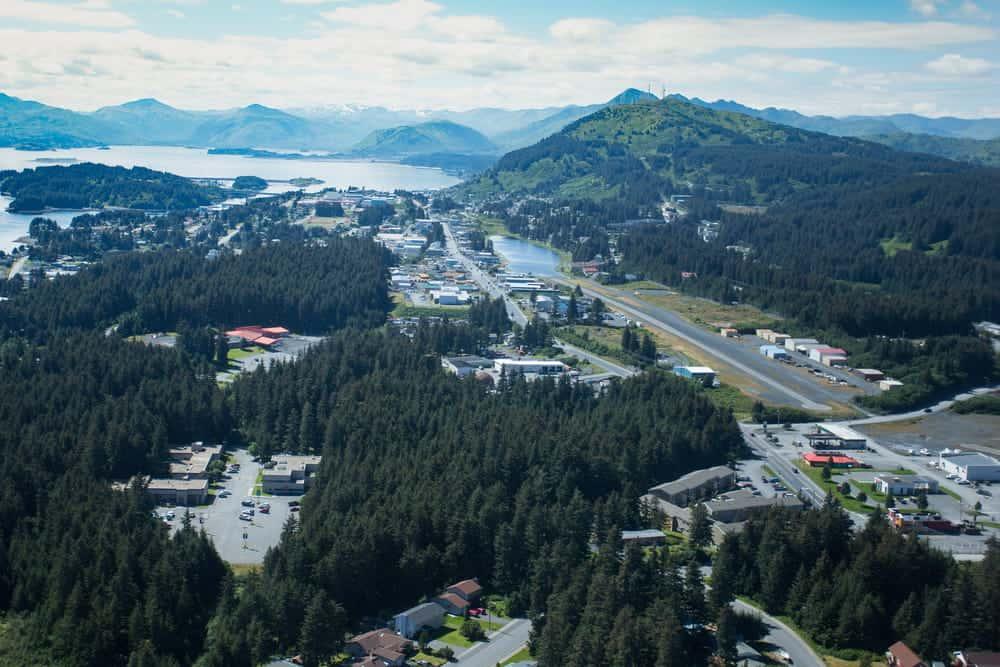 flying a drone in Alaska