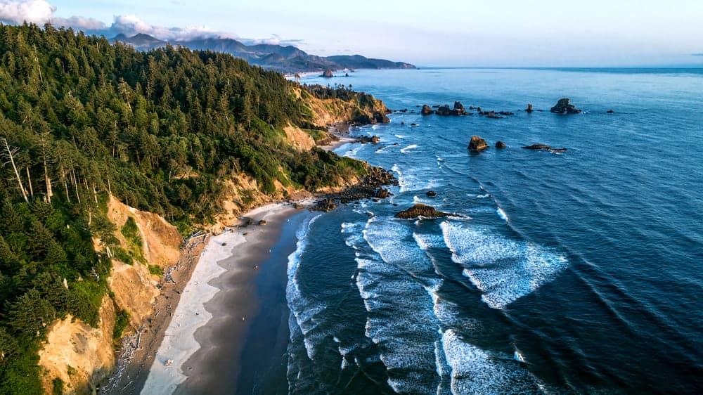 flying a drone in Oregon