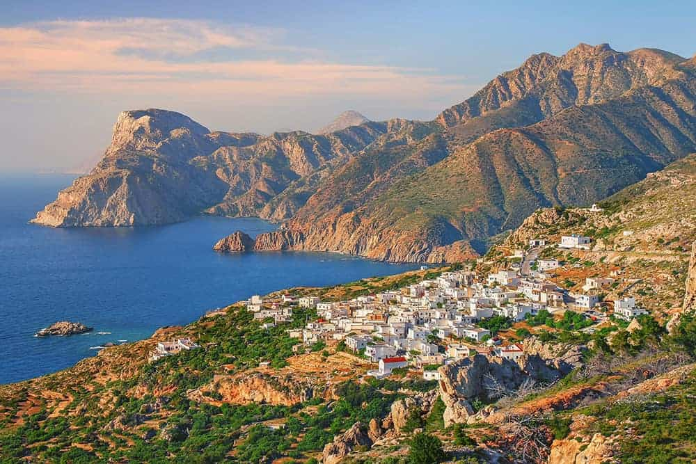 flying a drone in Greece