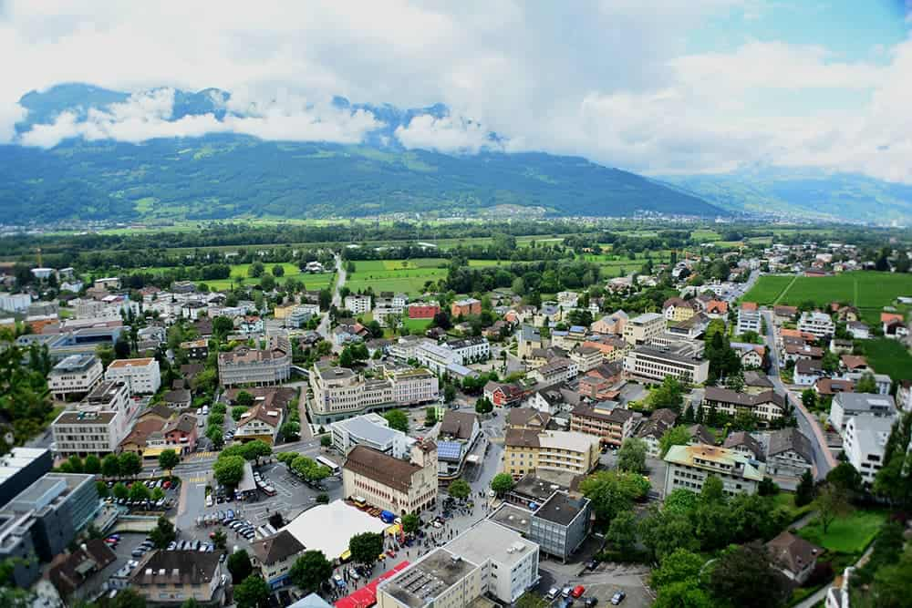 flying a drone in Liechtenstein