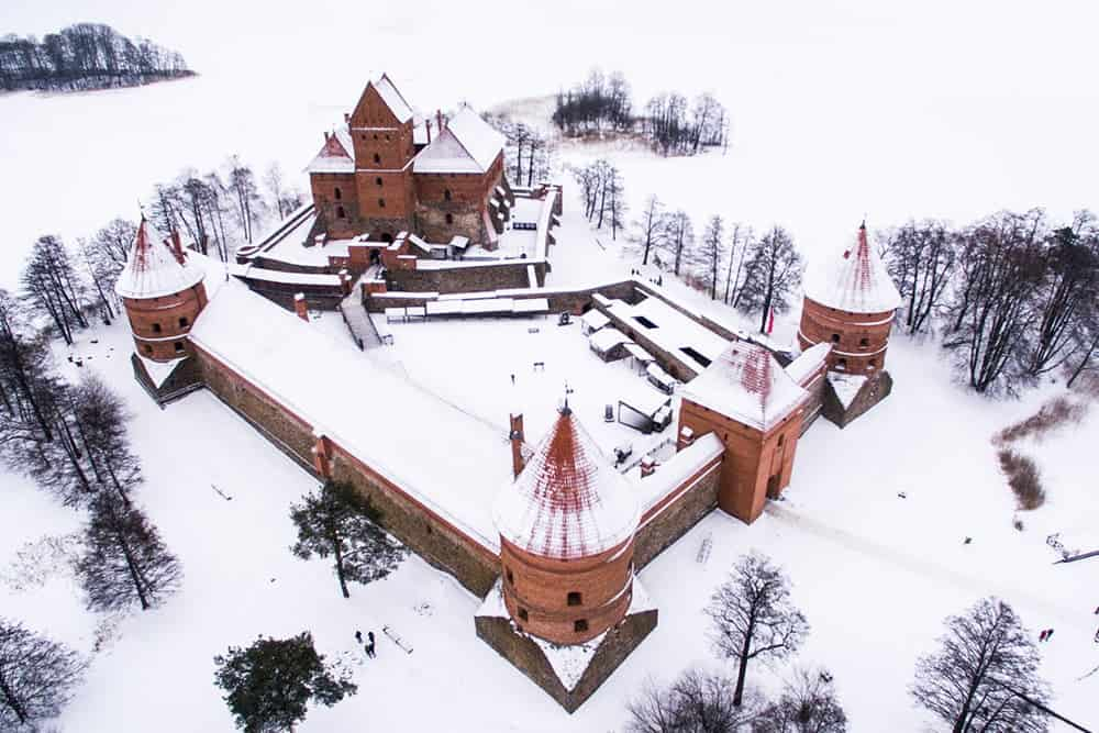 flying a drone in Lithuania