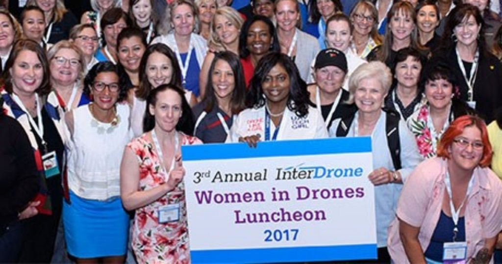 Women in Drones Luncheon at InterDrone