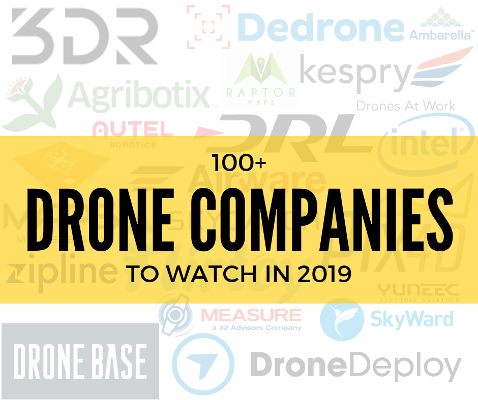 Drone Companies to Watch in 2019