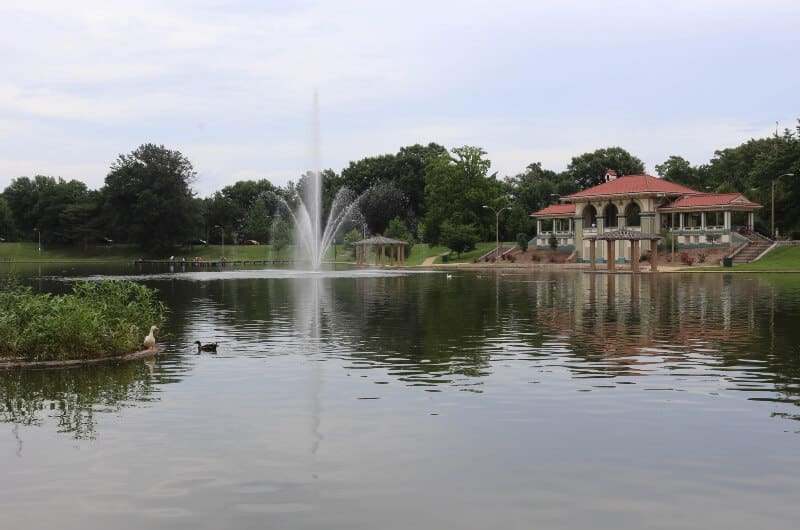 fly drone Carondelet Park