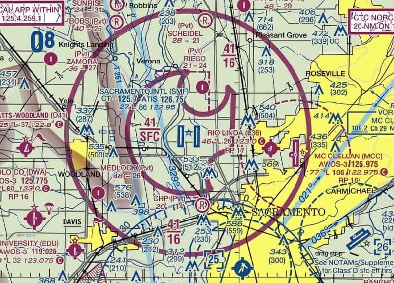 fly drone Sacramento