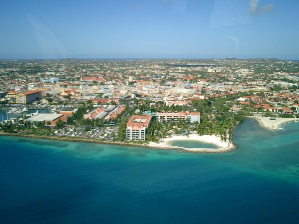 flying a drone in Aruba
