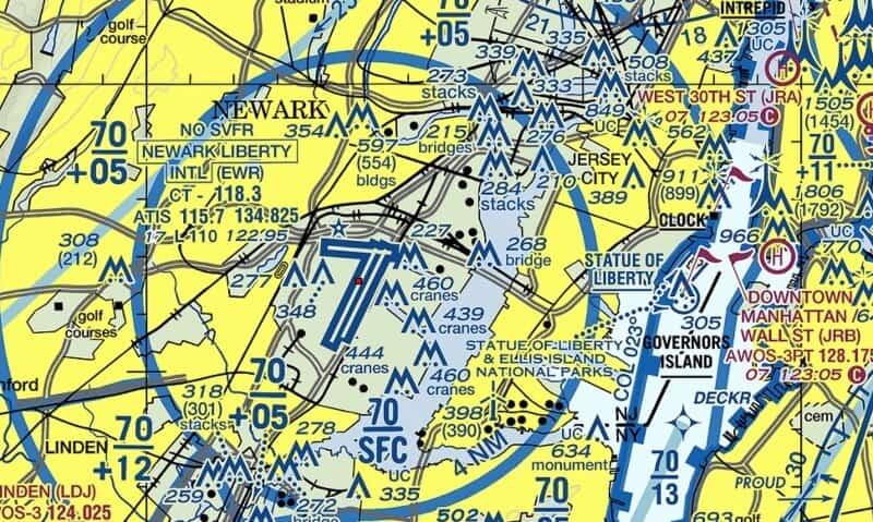 fly drone Newark