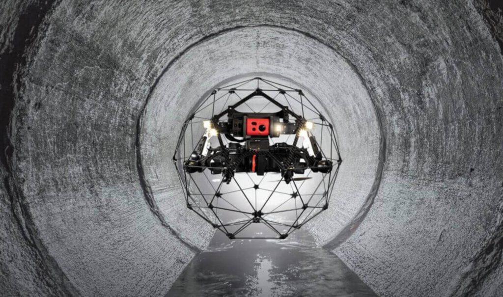 Flyability Elios 2 Tunnel View