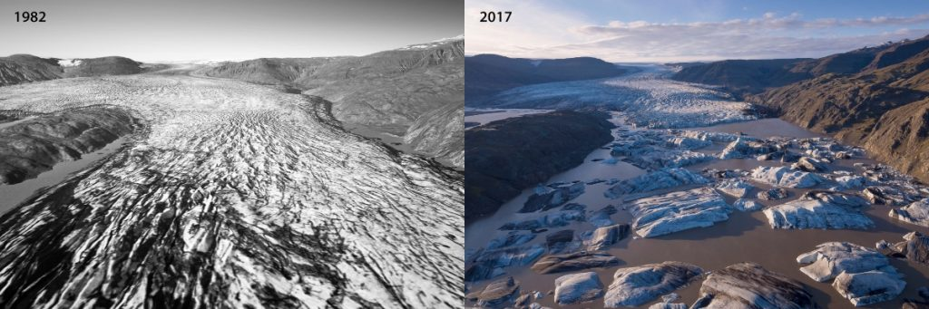 Photogrammetry Iceland Ice Loss