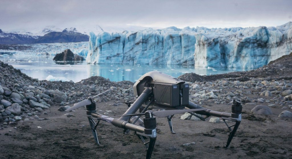 Iceland Drone Research