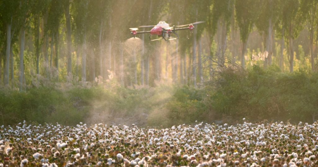 XAG Crop Spraying Drone