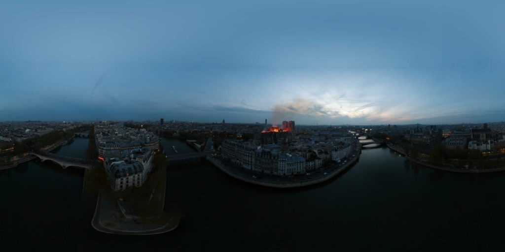 Drone Photography Winner - Boston in 360