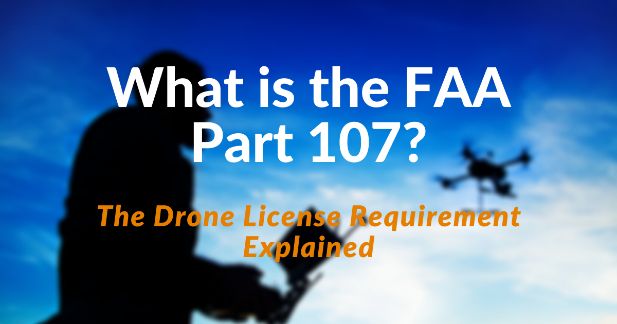 What is FAA Part 107