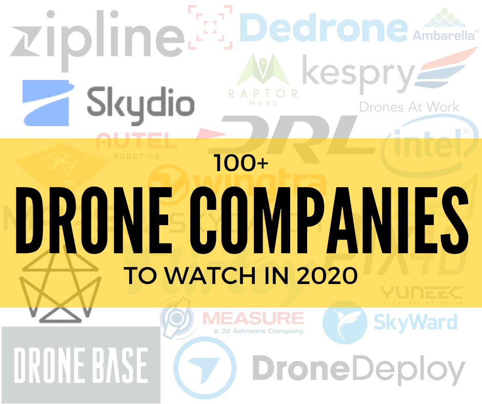 Drone Companies to Watch in 2020