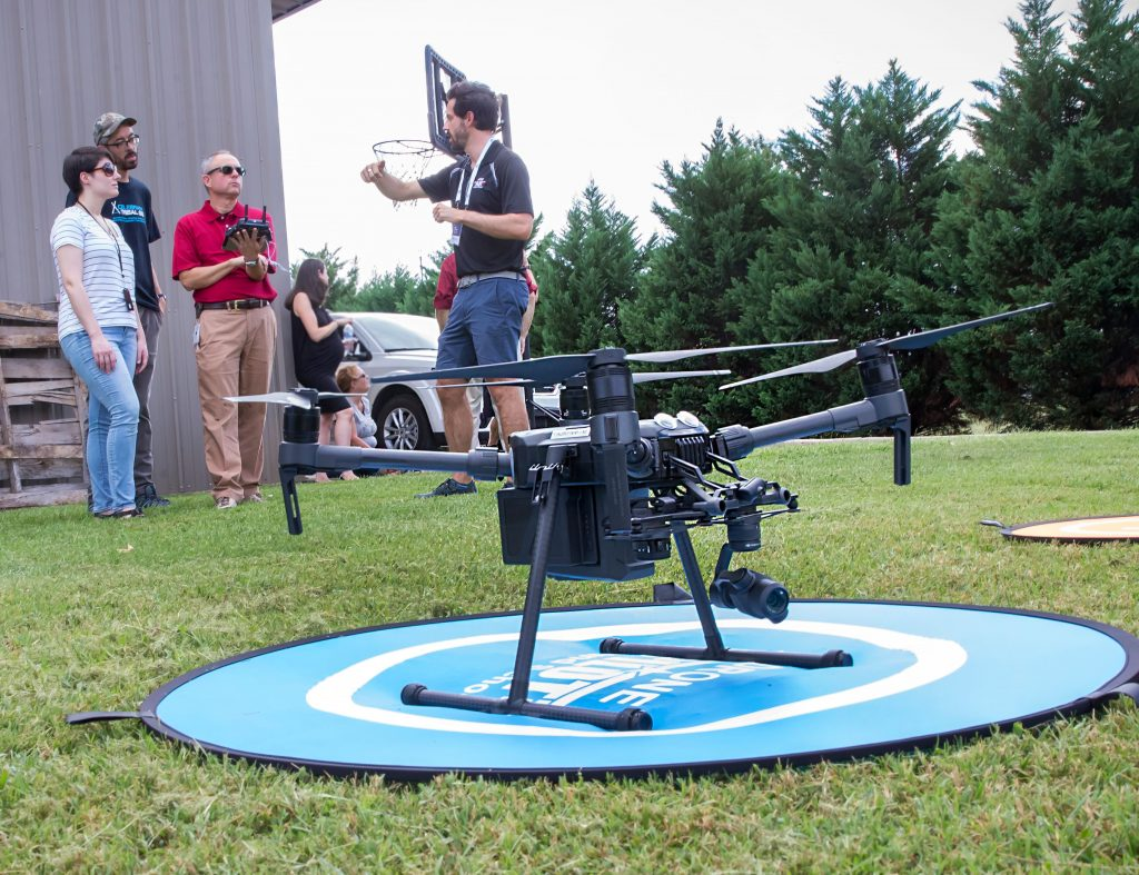 Group Drone Flight Training