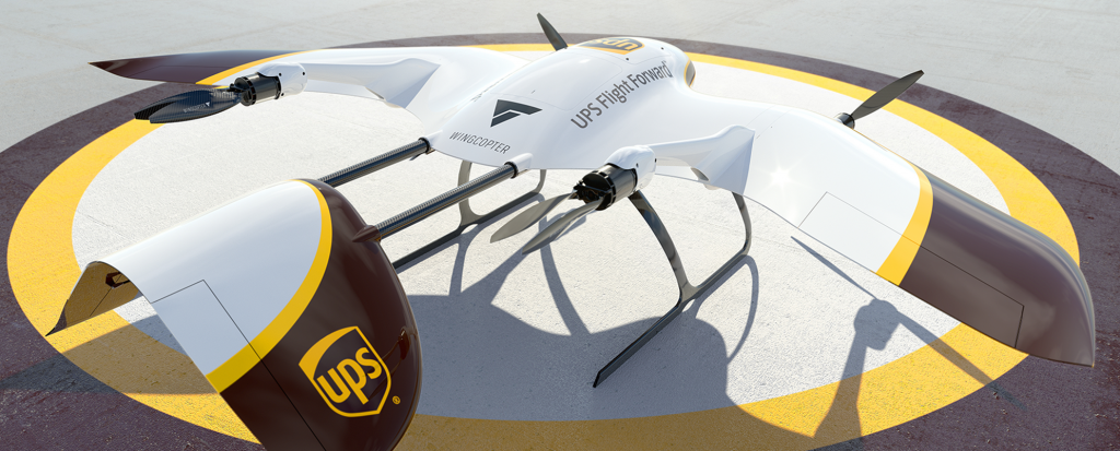 UPS Flight Forward heavy lift drone