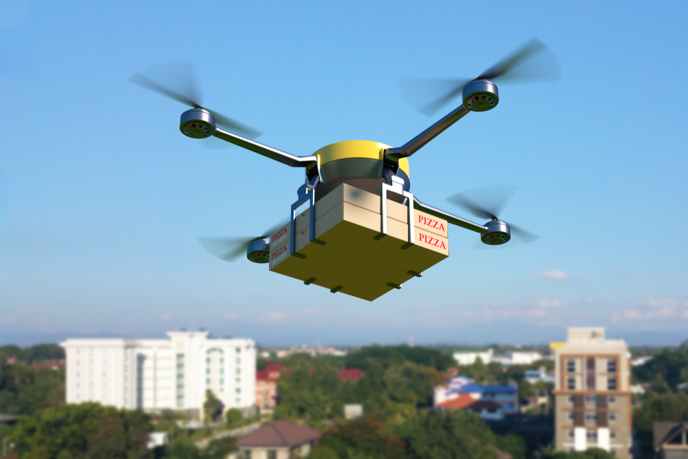 Drone Delivery could waste energy