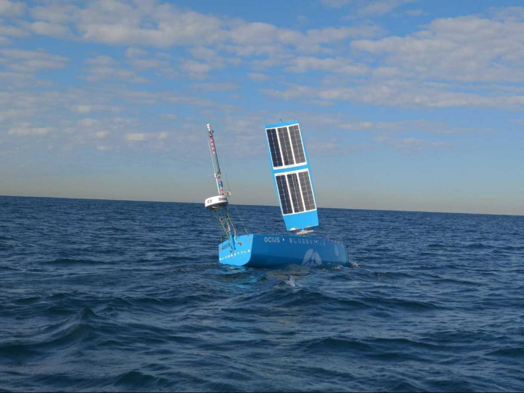 Autonomous boat in Australia