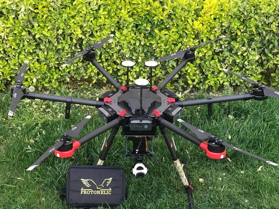 Assuva landmine detection drone