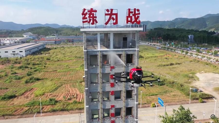 ehang-firefighting-drone
