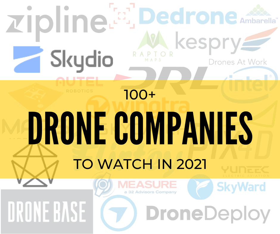 UAV Coach_Drone Companies to Watch 2021